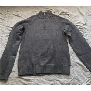Sweaters - Brooks Brothers XS Grey 100% Supina Cotton Sweater